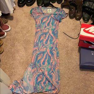 Sheer UNIF maxi dress